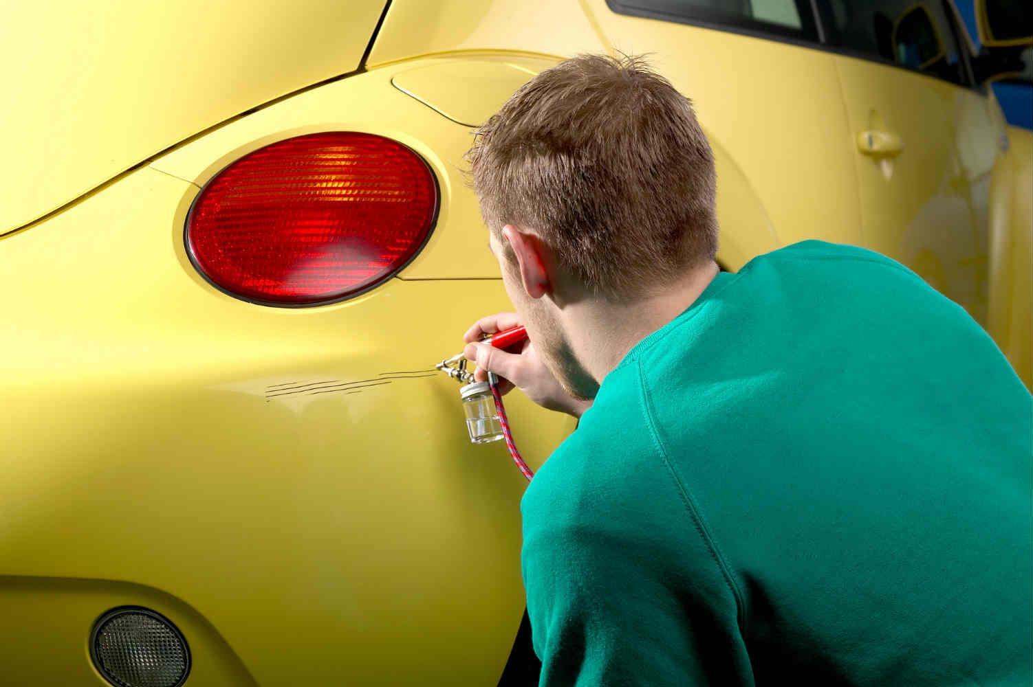 astuces pour att nuer les rayures profondes d 39 une voiture